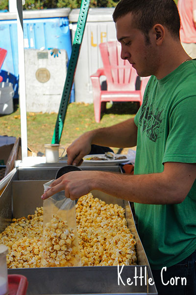 Oyster Fest WellFleet, Cape Cod - Kettle Corn