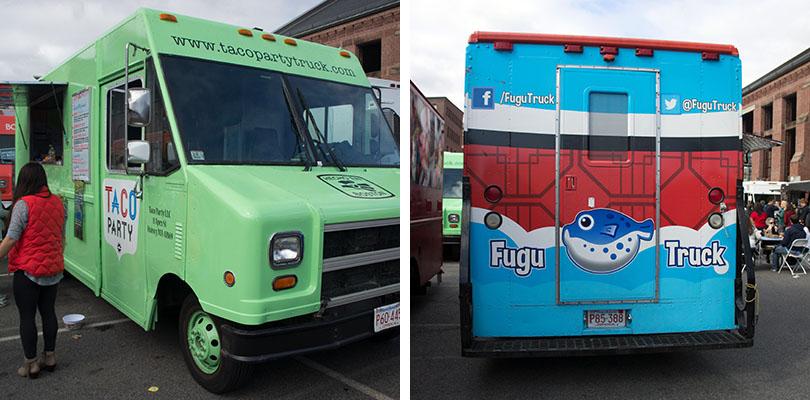 Boston Food Trucks Dewey Square
