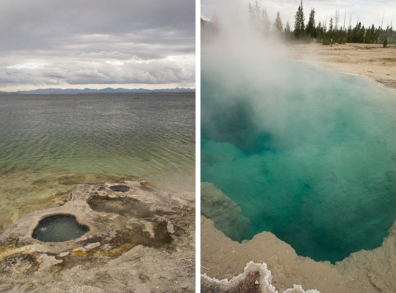 Lac Yellowstone - Yellowstone national park 1