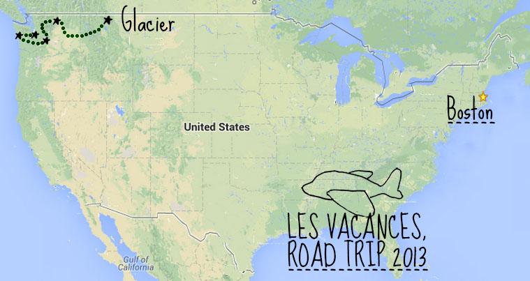 Road trip Nord ouest des Etats-Unis - Glacier National Park