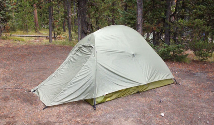 tent - yellowstone national park