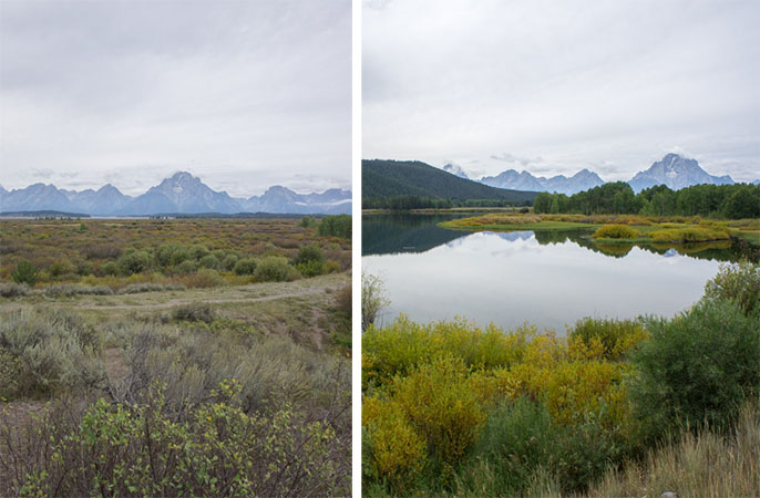 Grand Teton National Park - Mormon Row 1