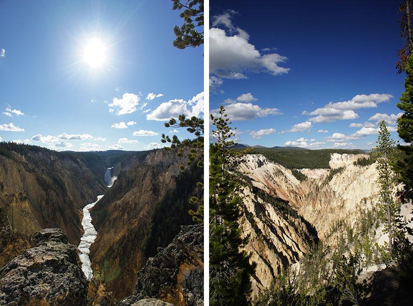 Grand canyon de Yellowstone - Yellowstone National Park