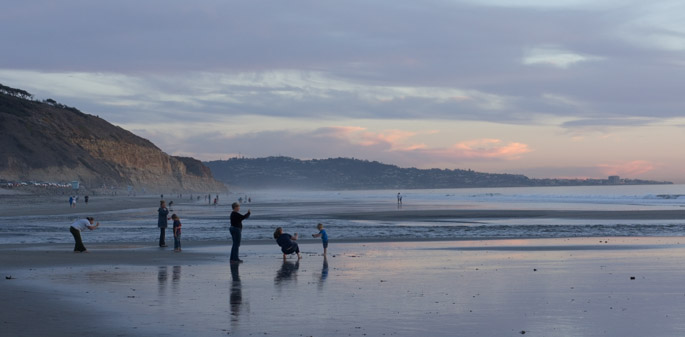Sunset à San Diego
