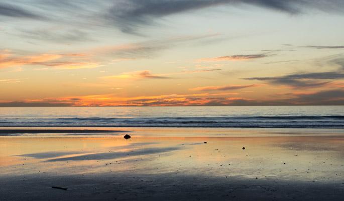 Sunset à San Diego 1