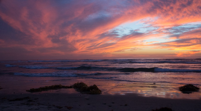 Sunset à San Diego 7