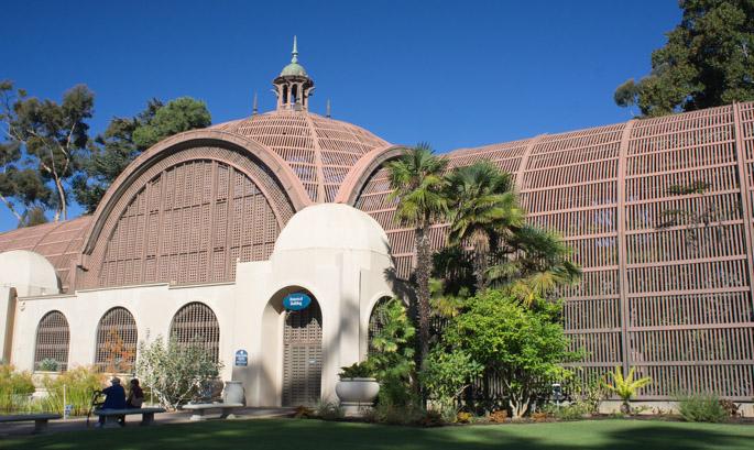 Jardin botanique, Balboa Park, San Diego, Californie