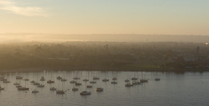 Sunset à San Diego 11