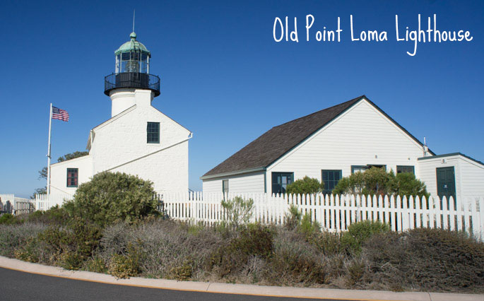 Old Point Loma Lighthouse, San Diego, Californie