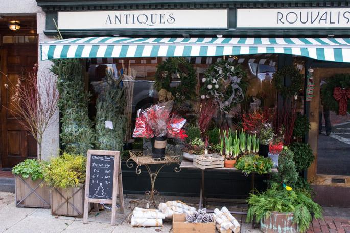 Antiques, Rouvalis, Beacon Hill, Boston