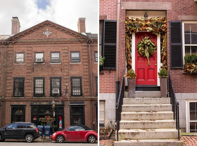 Post Office, Beacon Hill, Boston