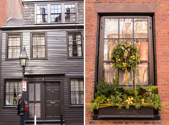 Près de Joy street, Beacon HIll, Boston