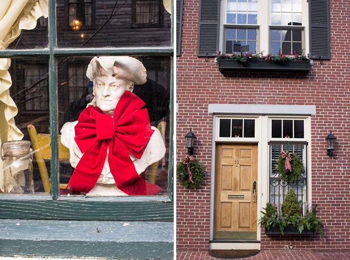 Dans les rues de Beacon Hill, Boston