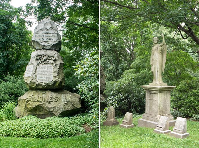 Tombes 1 - Mount Auburn Cemetery