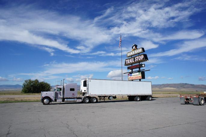 Truck dans l'Idaho