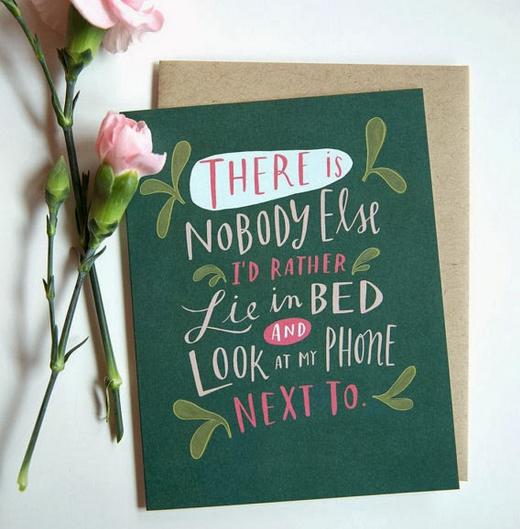 Carte de voeux Saint-Valentin