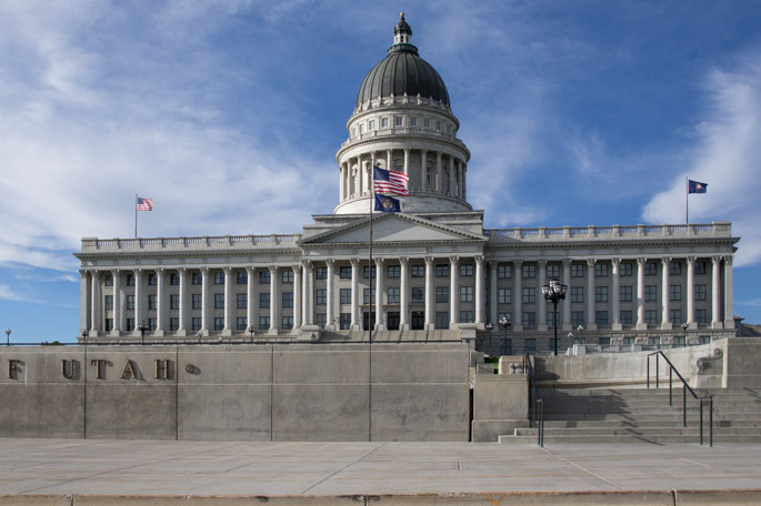 Le capitole de l'utah - Salt Lake City