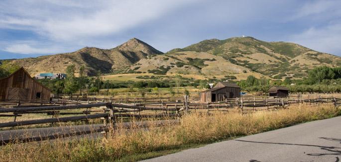 La montagne des mormons