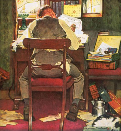 Norman Rockwell - Telegraph