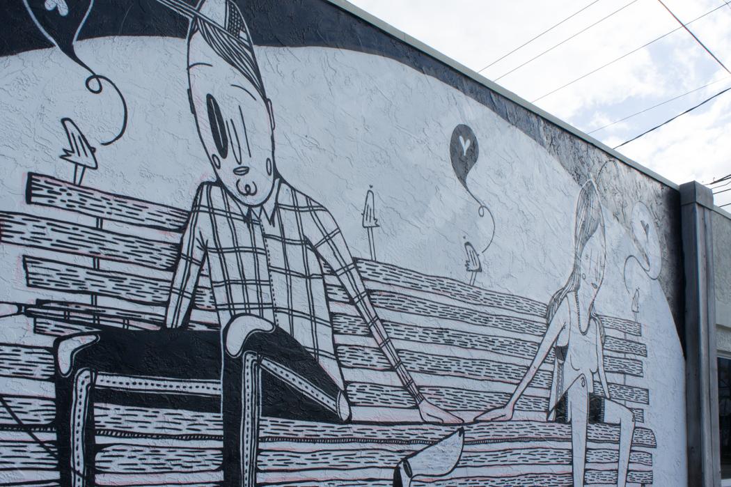 Graffiti à Wynwood, Miami