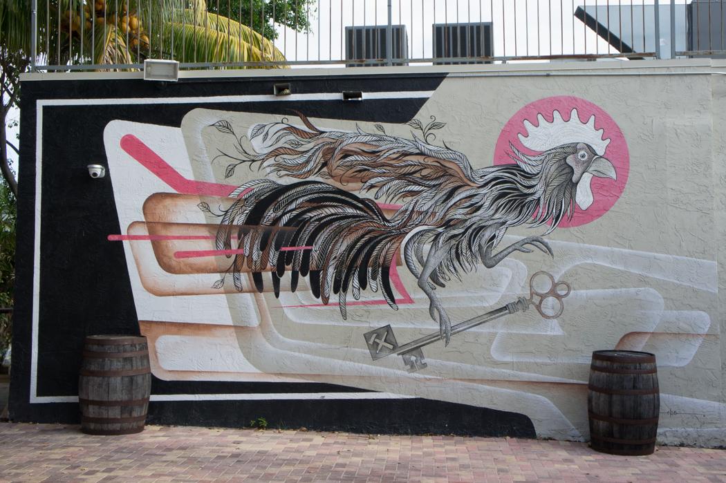 Graffiti à Wynwood, Miami 1