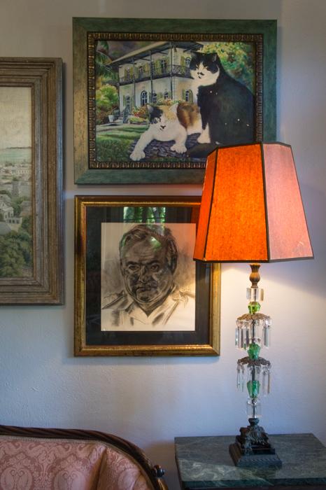 Dans la maison d'Hemingway - tableaux