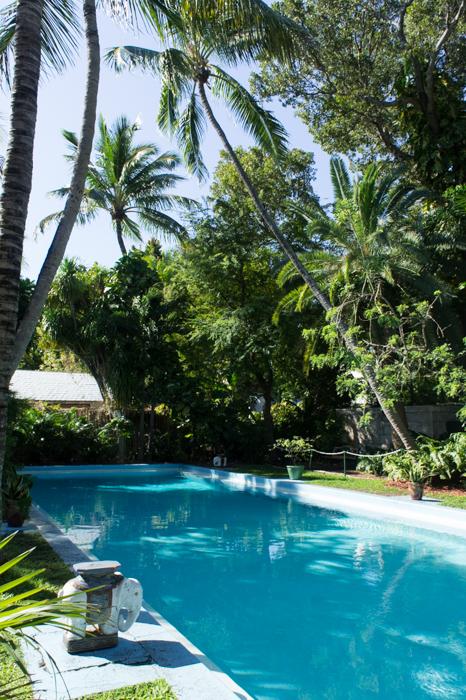 La piscine d'Hemingway à Key West