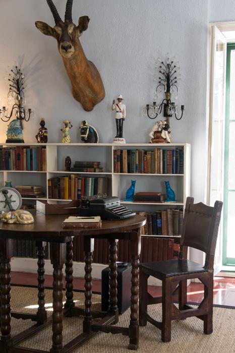 Dans l'atelier d'Hemingway, Key West