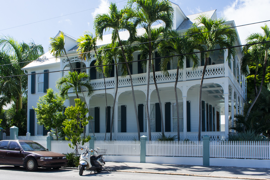 Maison trop belle à Key West
