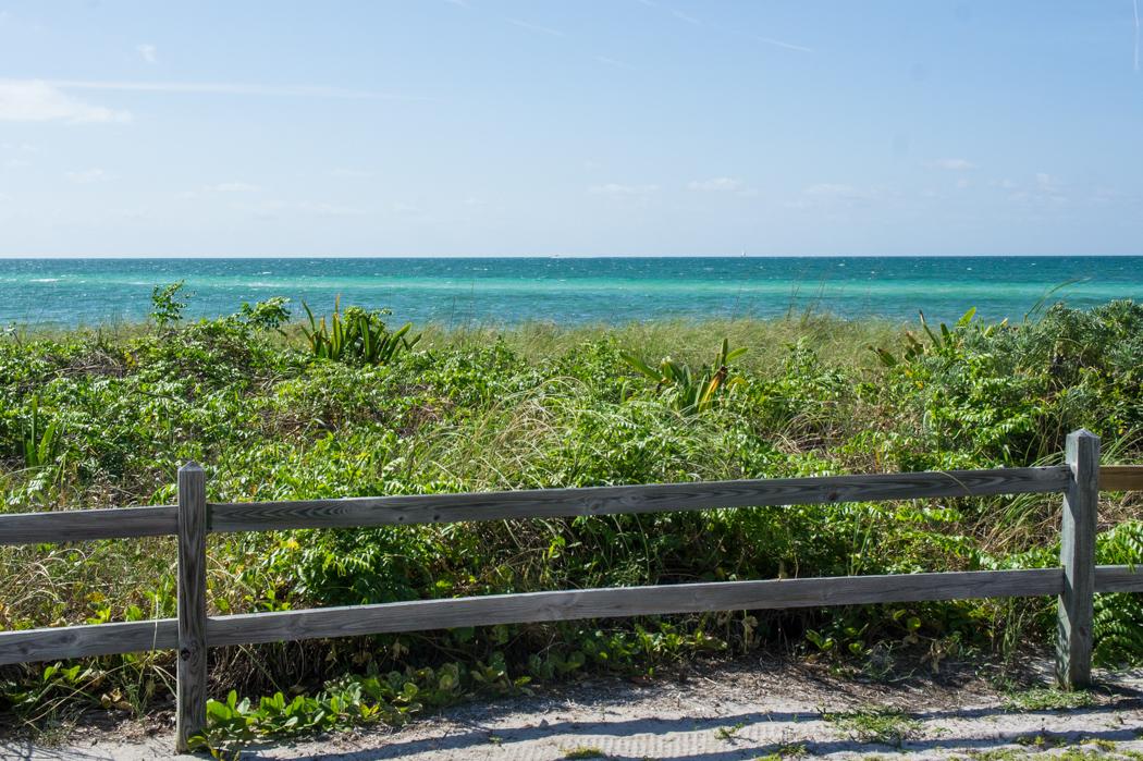 La mer toute bleue au large des Keys, Bahia Honda