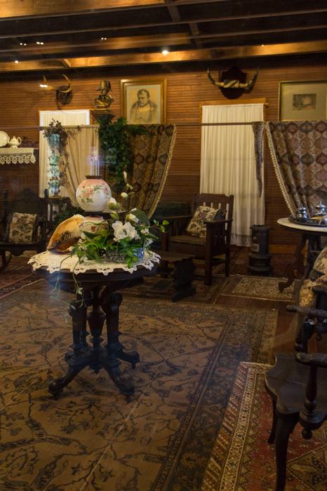 Koreshan state historic park - Floride - dans la maison