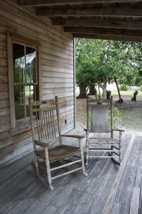 Koreshan state historic park - Floride - chaises à bascule spooky