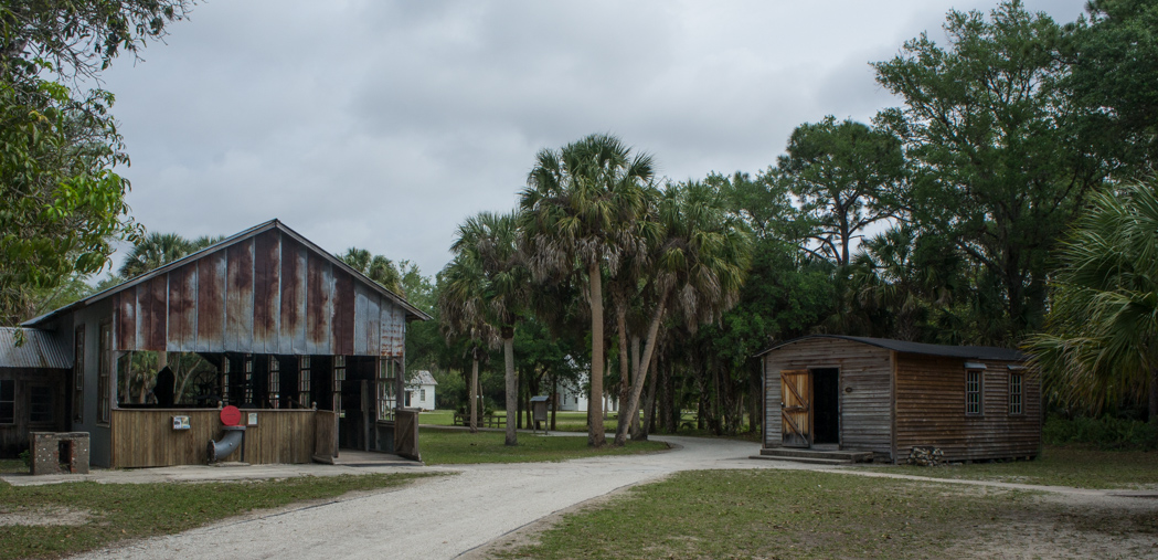 Koreshan state historic park - Floride - campement