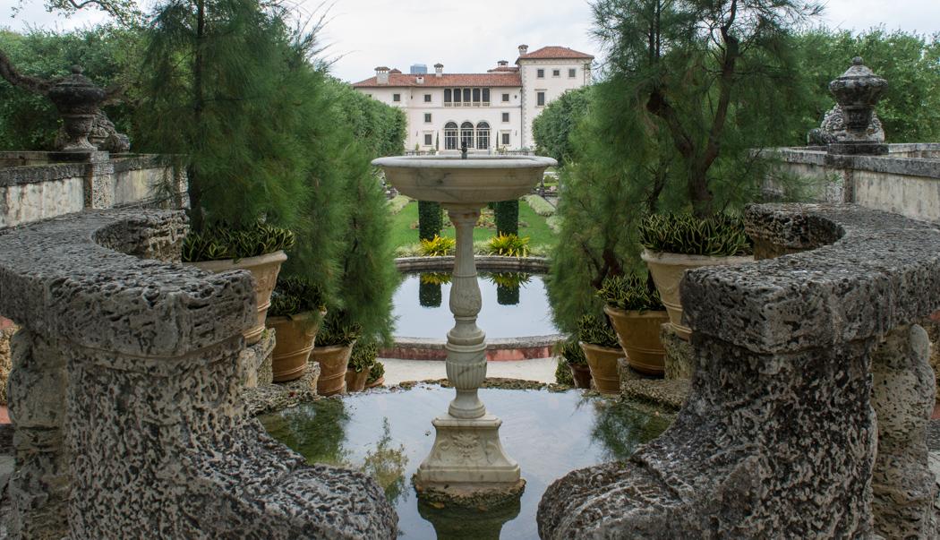 Une vue de la Villa Vizcaya - Coconut Grove - Miami - Floride