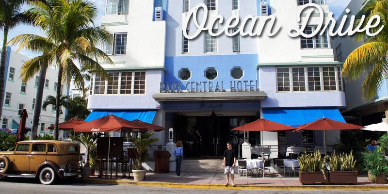 Ocean Drive - Miami - Visiter la Floride