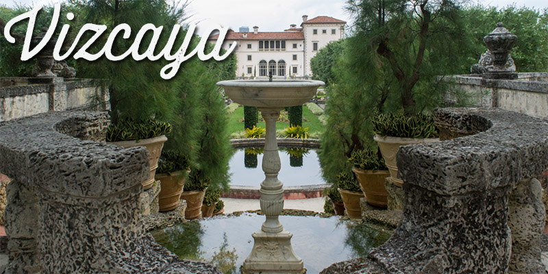 Vizacaya House - Miami - Visiter la Floride