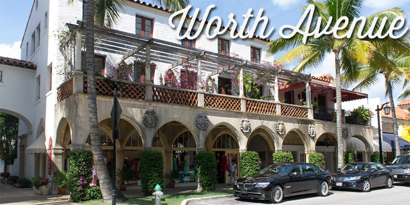 Worth Avenue - Palm Beach - Visiter la Floride