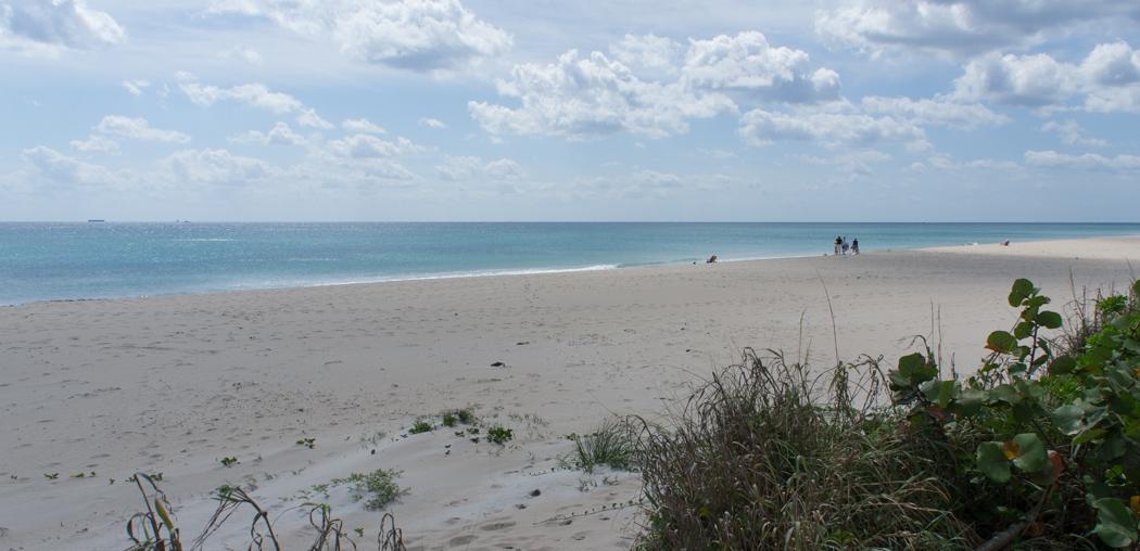 Palm Beach Floride, la plage
