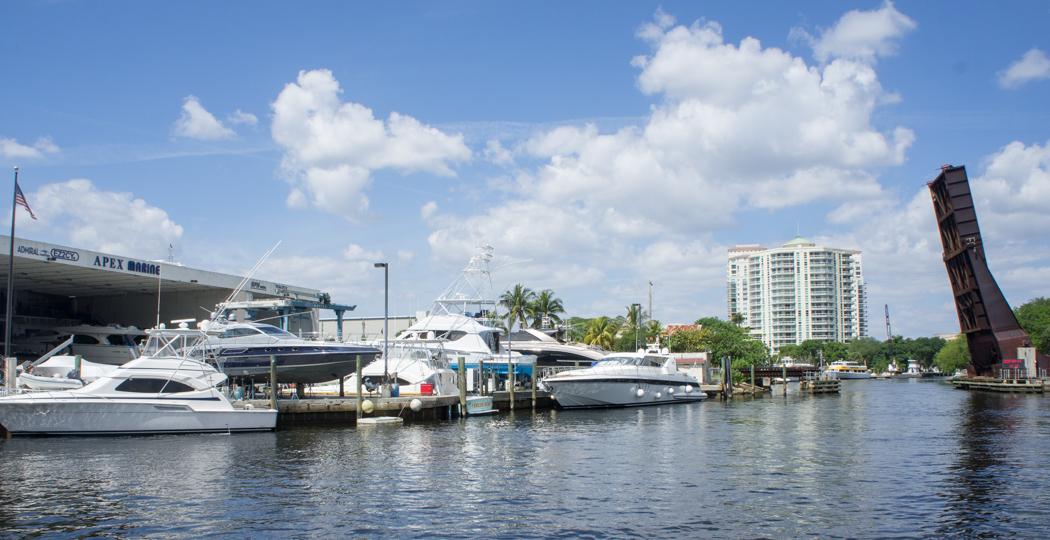 Fort Lauderdale - Floride - yacht et canaux