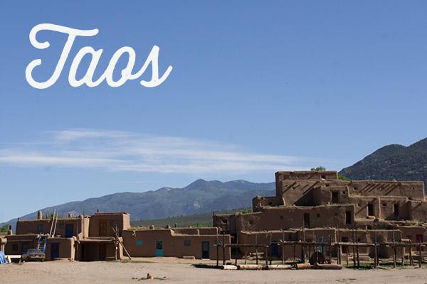 Taos et Taos Pueblo Nouveau Mexique