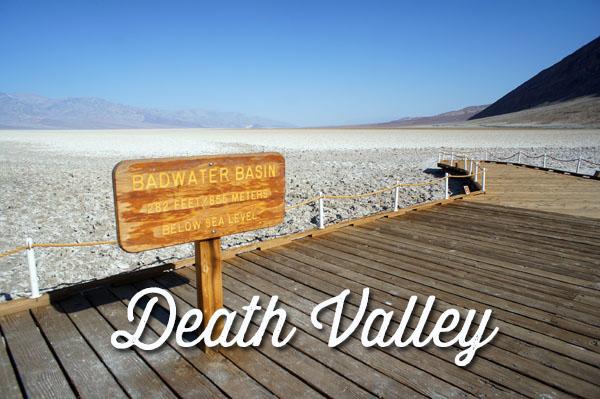 death valley - la vallée de la mort - californie