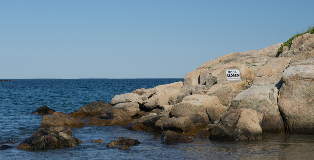 Les rochers - Little Compton, Rhode Island
