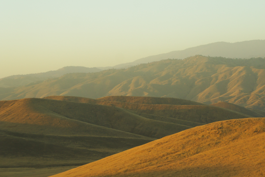 Les collines de Californie