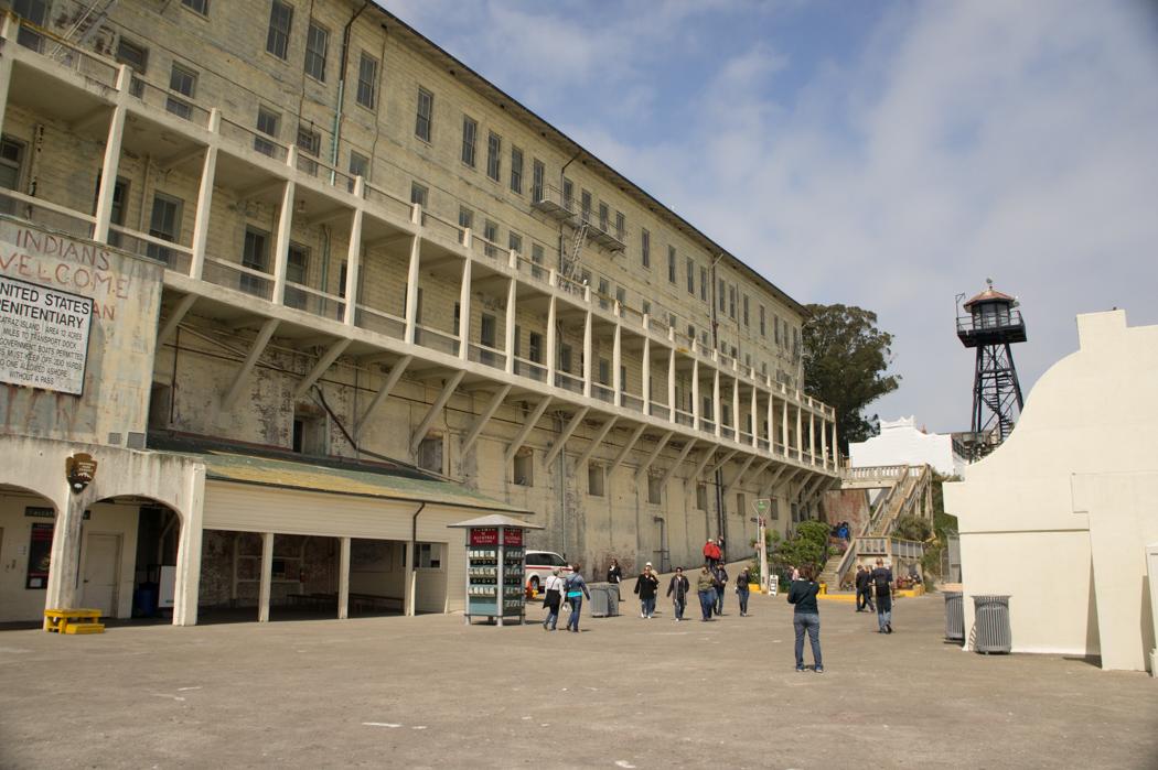 Arrivée à Alcatraz, débarquement du ferry - San Francisco