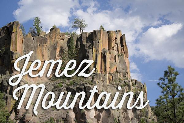 Jemez Mountains - Nouveau Mexique