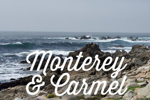 Monterey et Carmel - Voyage en Californie