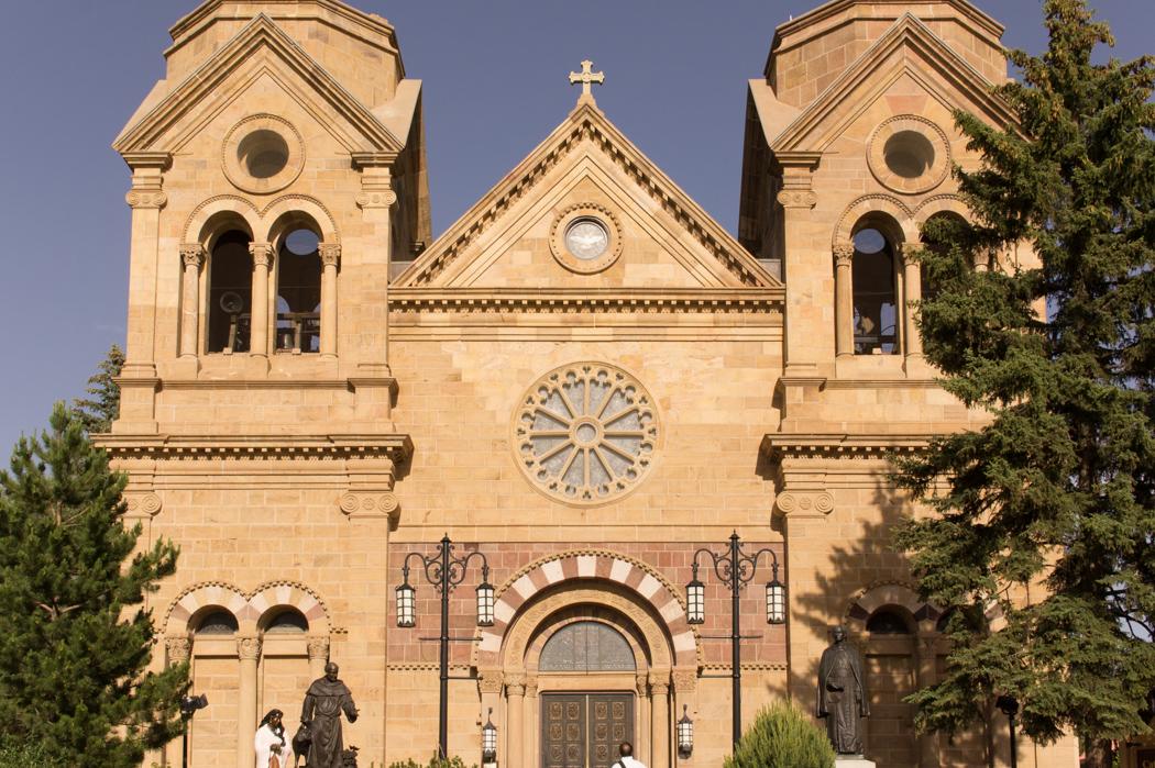 Saint François D'assise - église de Santa Fe, New Mexico