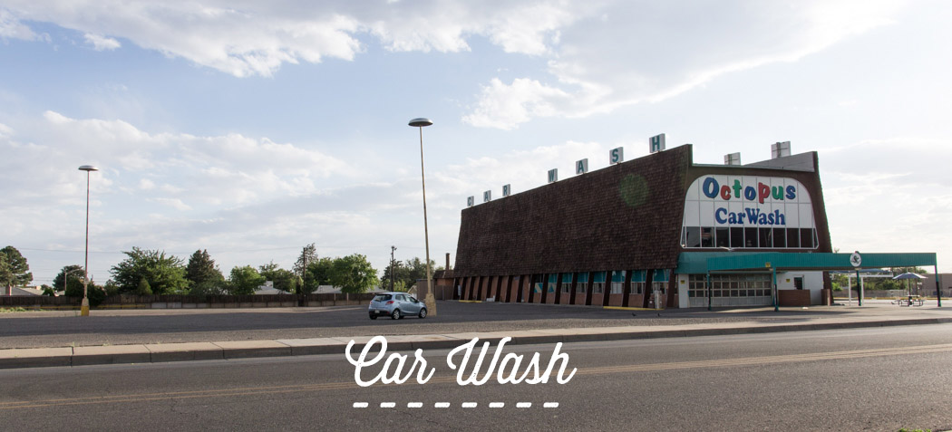 Le car wash dans breaking bad - albuquerque