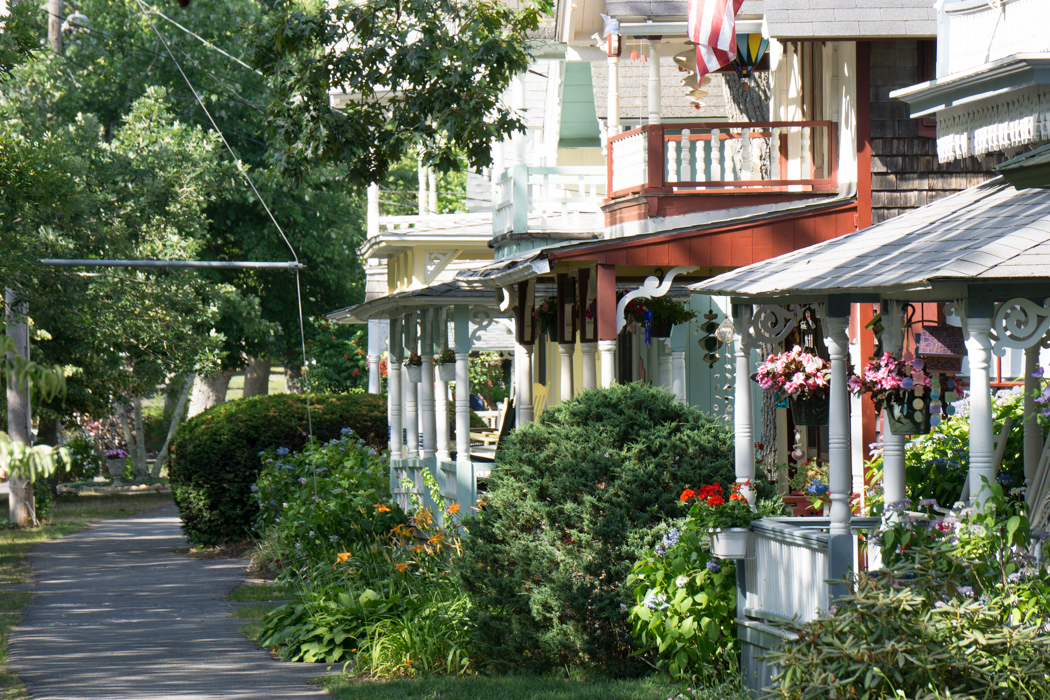 Oak Bluffs - les gingerbread houses - Martha's Vineyard