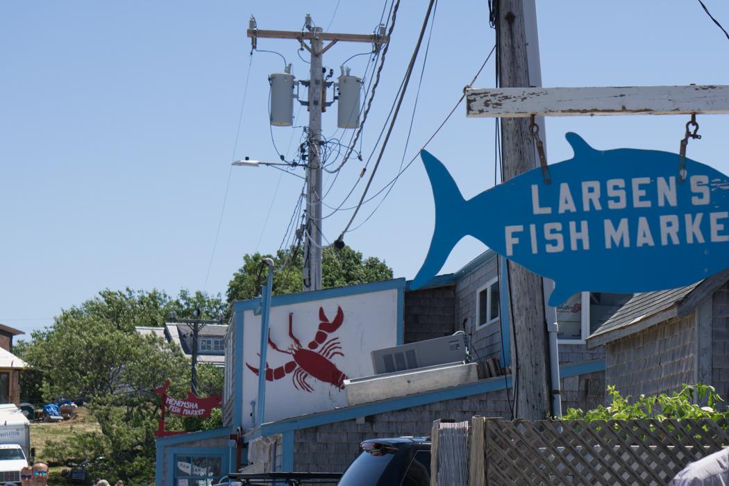 Larsen Fish Market Menemsha Martha's Vineyard